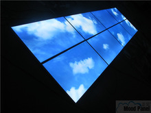 1200*600mm Sky decoration LED ceiling panel light